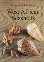 Illustration : couverture du livre : 'West African Seashells'.