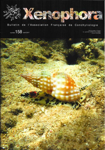Couverture du Xenophora n°158.