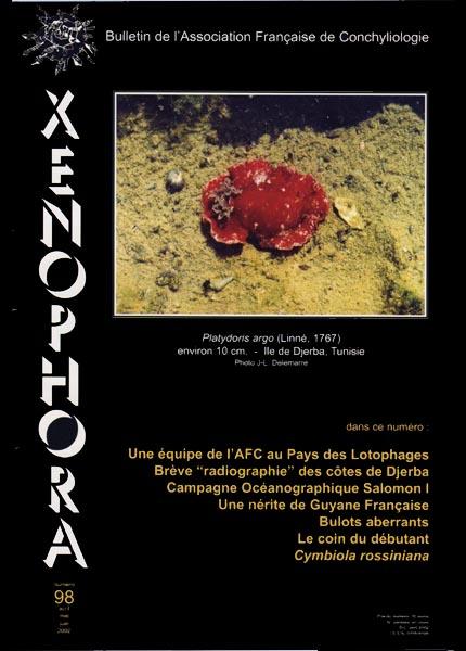 Couverture du Xenophora n°98.