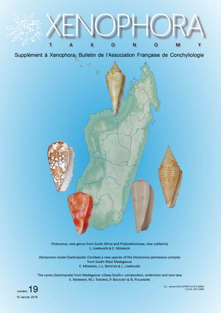 Couverture du Xenophora Taxonomy n°19.