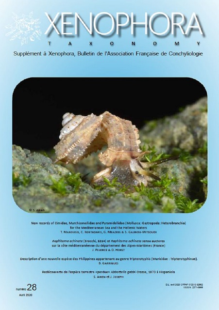 Couverture du Xenophora Taxonomy n°28.