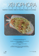 Couverture du Xenophora Taxonomy n°4.